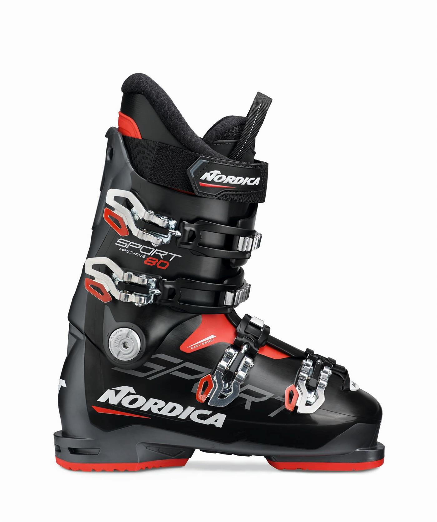 252415 Nordica 050R46017T1245 NORDICA Sportmachine 80 Sort/Grå 245 Sport Performance Alpinstøvel